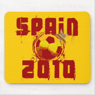 Spain 2010 mouse pad