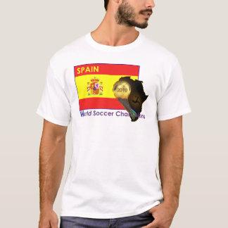 Spain 2010 Soccer Championship Shirt