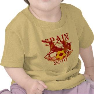 Spain 2010 soccer futbol toddlers shirt