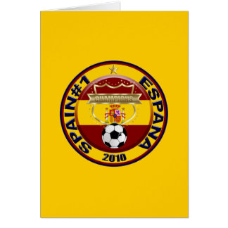 Spain 2010 Soccer World Champions Card