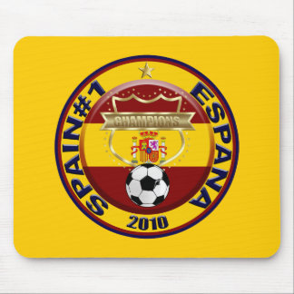 Spain 2010 Soccer World Champions Mouse Pad