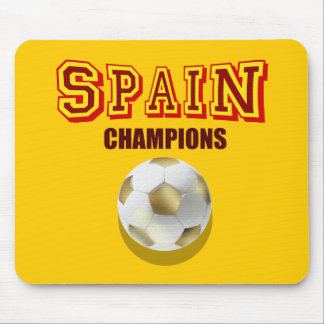 Spain 2010 World Champions Mouse Pad