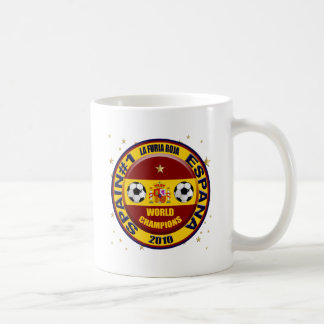 Spain 2010 World Champions Soccer Futbol Coffee Mug