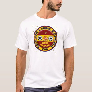 Spain 2010 World Champions Soccer Futbol T-Shirt