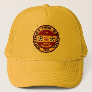 Spain 2010 World Champions Soccer Futbol Trucker Hat