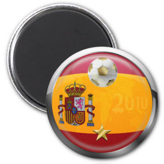 Spain 2010 World Champions Winners 1 Star Gifts Magnet
