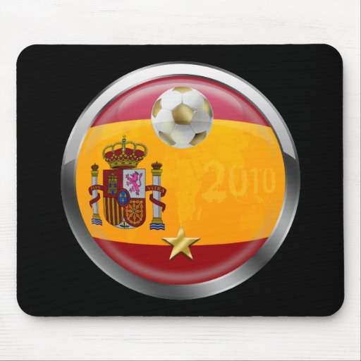 Spain 2010 World Champions Winners 1 Star Gifts Mouse Pads