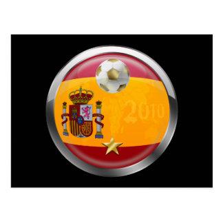 Spain 2010 World Champions Winners 1 Star Gifts Postcard