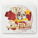 Spain 2010 World cup Mousepads