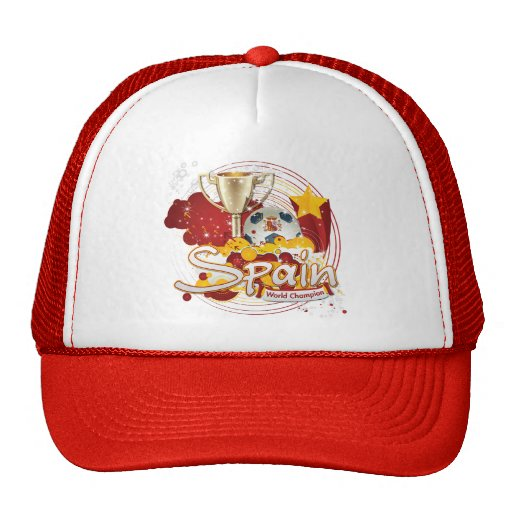 Spain 2010 World cup Trucker Hat