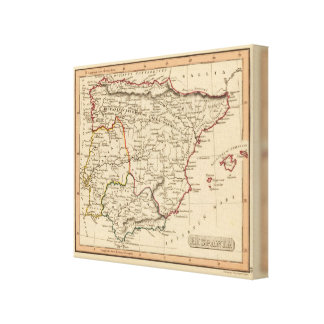 Spain 6 canvas print