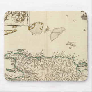 Spain and Portugal 11 Mouse Pad