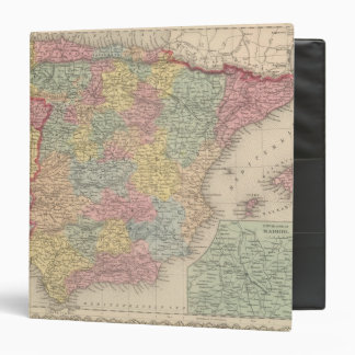 Spain and Portugal 13 3 Ring Binder