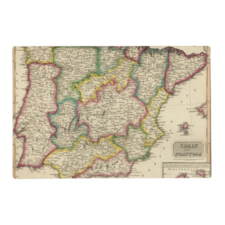 Spain and Portugal 19 Placemat