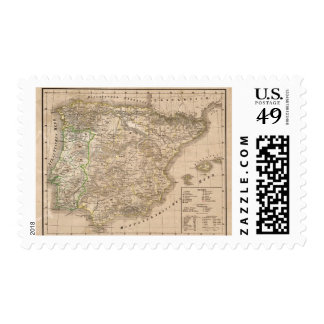 Spain and Portugal 20 Stamps