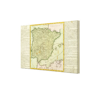 Spain and Portugal 3 Canvas Print