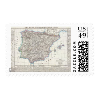 Spain and Portugal 6 Postage Stamps