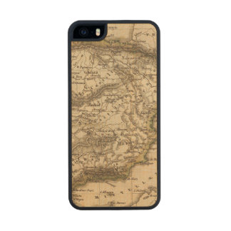 Spain and Portugal 8 Carved® Maple iPhone 5 Case