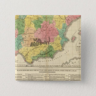 Spain and Portugal Chronology Map Button