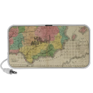 Spain and Portugal Chronology Map Travelling Speaker