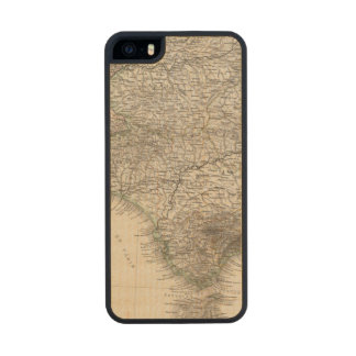 Spain and Portugal, four leaves Carved® Maple iPhone 5 Case