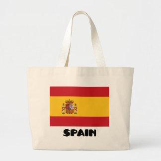 Spain Jumbo Tote Bag