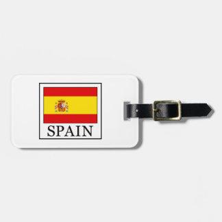 Spain Bag Tag