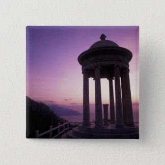 Spain, Balearics, Majorca, Deia. Son Marroig Pinback Button