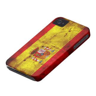 Spain; bandera de España iPhone 4 Case-Mate Case
