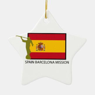 SPAIN BARCELONA MISSION LDS CTR CERAMIC ORNAMENT