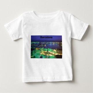 Spain Barcelona Night View (St.K) Infant T-shirt
