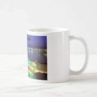 Spain Barcelona Night View (St.K) Classic White Coffee Mug