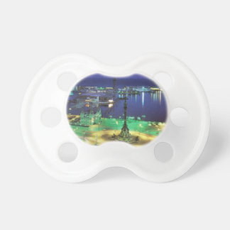 Spain Barcelona Night View (St.K) Pacifier