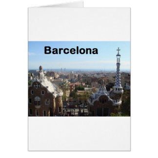 Spain Barcelona View (St.K) Greeting Card