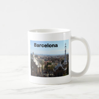 Spain Barcelona View (St.K) Classic White Coffee Mug