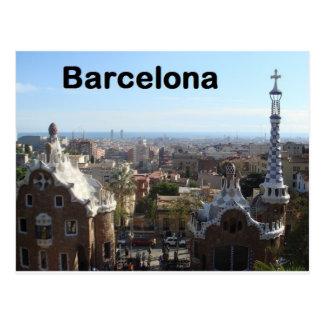 Spain Barcelona View (St.K) Postcard