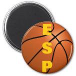 Spain Basketball Team 2 Inch Round Magnet