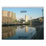 Spain BILBAO,  2009 Wall Calendars