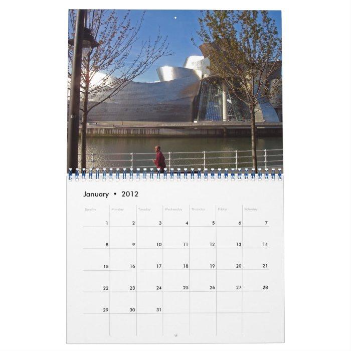 Spain BILBAO,  2012 Calendar