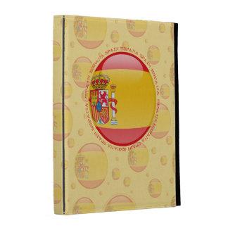 Spain Bubble Flag iPad Cases