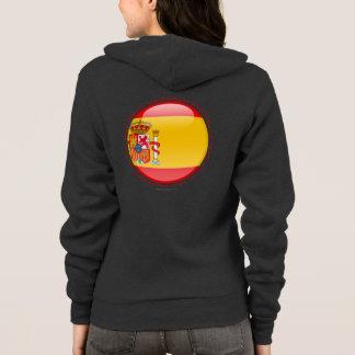 Spain Bubble Flag Hoodie