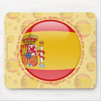 Spain Bubble Flag Mouse Pad