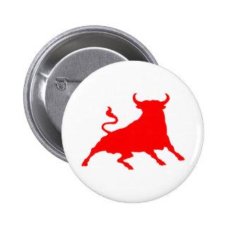 Spain Bull Button