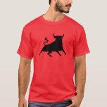Spain Bull T-Shirt Playera