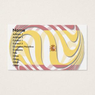 Spain Business Card