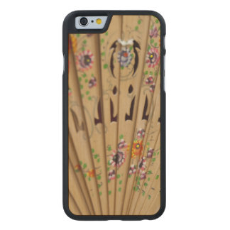Spain, Cadiz Province, Seville. Historic Santa Carved Maple iPhone 6 Slim Case