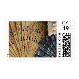 Spain, Cadiz Province, Seville. Historic Santa Stamp