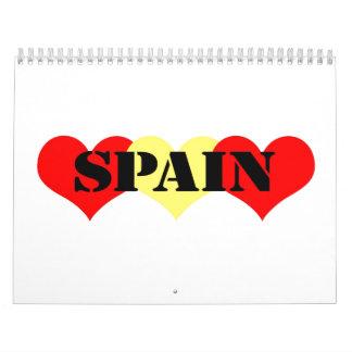 Spain Calendar
