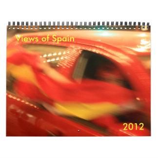Spain Calendar 2012