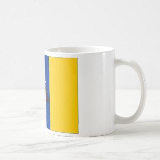 Spain Canary Islands Flag Coffee Mug